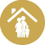 تأمين سكن عائلة